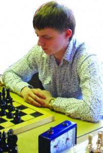 Сергей Танчев, самый молодой участник соревнований.
