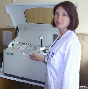 Фельдшер-лаборант Наталья Мазур и тот самый «Федя».