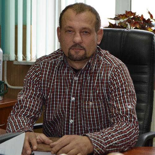 Начальник СХЦ Василий КУЖАЛЬ