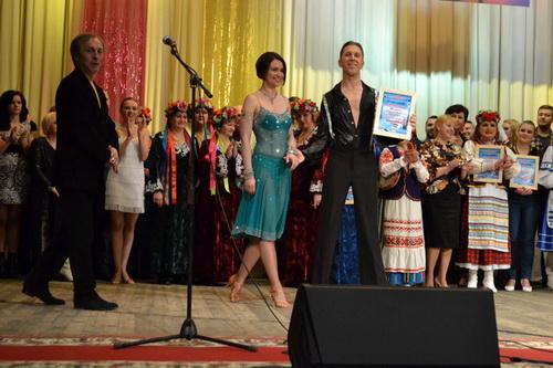 Александр Бризинский с партнершей