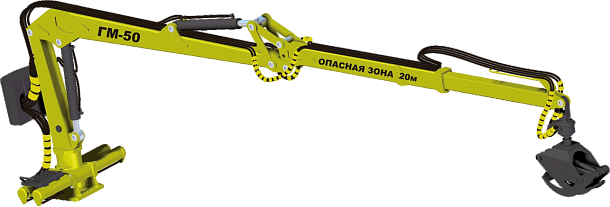 Гидроманипулятор МТЗ ГМ-50