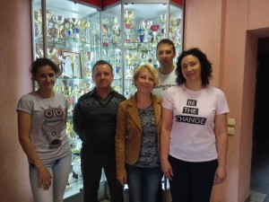 Дарья Павленкова, Иван Заяц, Юлия Вьюнова, Артем Кендыш и Ирина Джураева.
