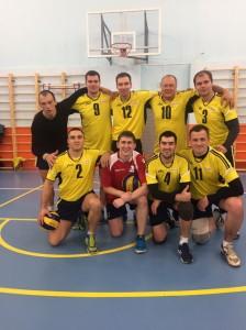 Сборная МТЗ по волейболу.